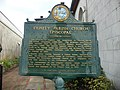 Trinity Parish Church Episcopal historical marker.JPG