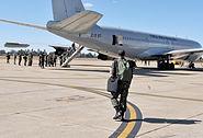 Troops depart Brasilia for Haiti 2010-07-20 9