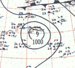 Tropical Storm Nadine analysis 7 Jun 1960.png
