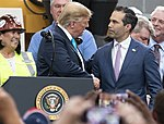 Trump meets with George P. Bush in April 2019.jpg
