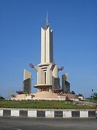 Tugu Selamat Datang di Kota Banjarbaru.jpg