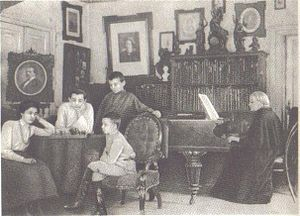 Mikhail Tukhachevsky - Marshal Tukhachevsky with his family