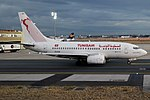 Tunisair, TS-IOR, Boeing 737-6H3 (43438553250).jpg