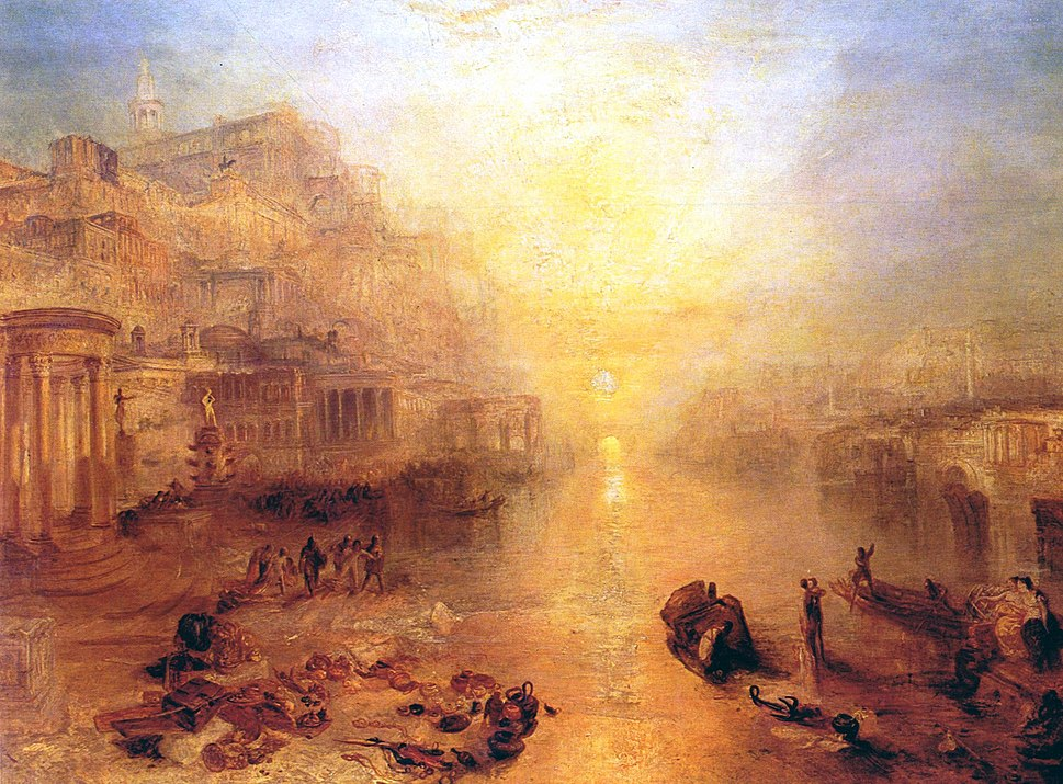 Turner Ovid Banished from Rome