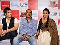 Tusshar Kapoor, Milan Luthria, Vidya Balan at The Dirty Picture DVD launch (11).jpg