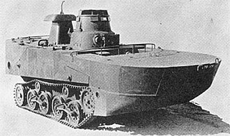 Type 2 Ka-Mi - Type 2 Ka-Mi with its flotation sections attached