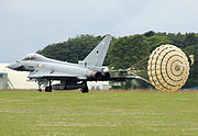 Typhoon deploying parachute arp