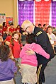 U.S. Army Maj. Gen. Peter Lennon, the commanding general of the 377th Sustainment Command, says goodbye after reading to a first-grade class at the Cypress Cove Elementary School in Slidell, La., March 22, 2013 130322-A-PT355-093.jpg
