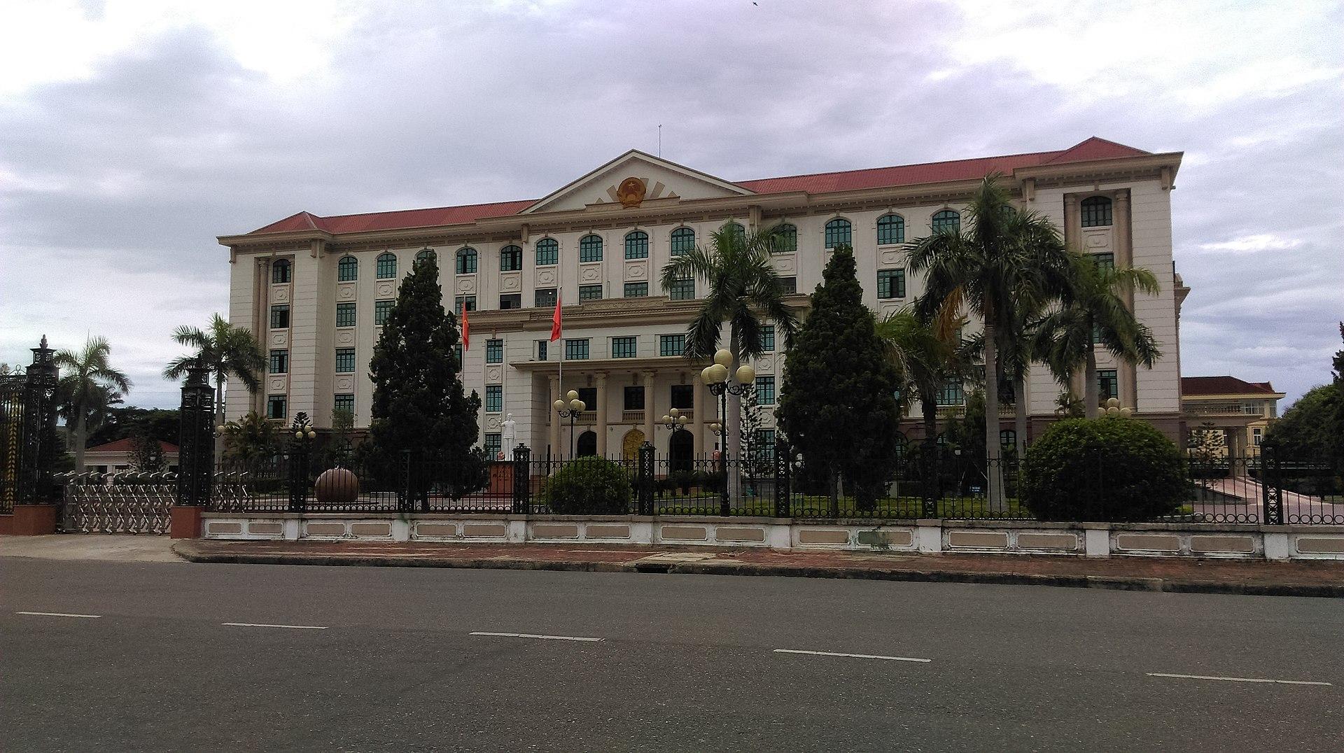 UBND tỉnh Hà Tĩnh. Ảnh Wikipedia