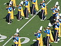 UCLA Band performing at halftime at UCLA at Cal 10-25-08 4.JPG