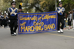 UC Davis California Aggie Marching Band-uh! - The band on Picnic Day