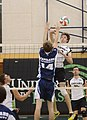 UFV men's volleyball vs Cap Nov 7 2014 19 (15576125950).jpg