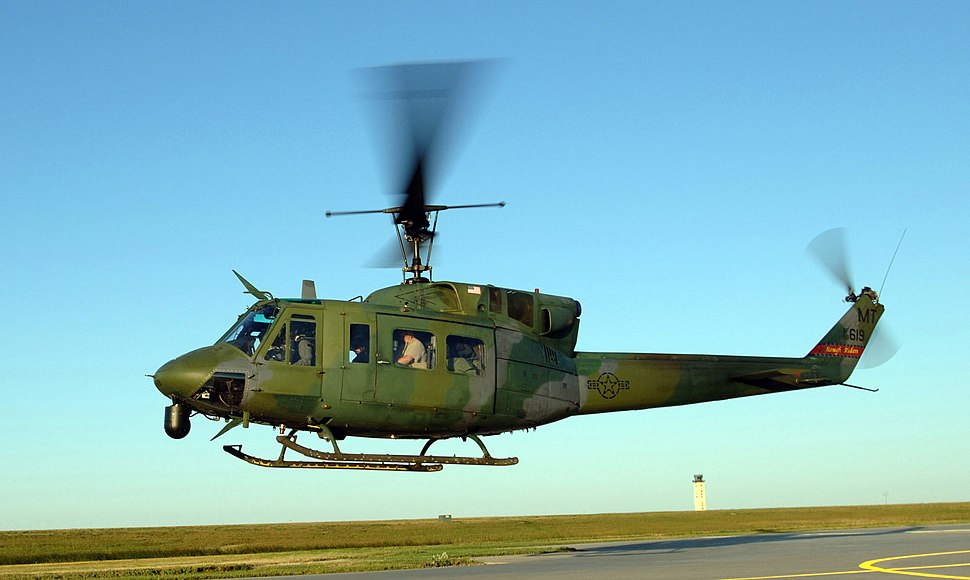 UH-1N Huey takes off Minot Air Force Base 050902-F-9208L-084