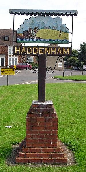 Haddenham, Cambridgeshire - Image: UK Haddenham (Cambridgeshire) (Side A)