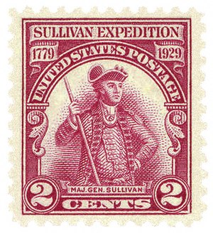 Sullivan Expedition - Postage stamp, USA, 1929