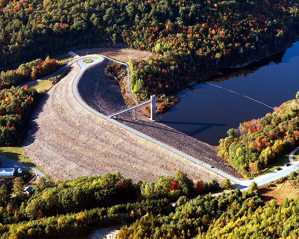 USACE Otter Brook Lake and Dam