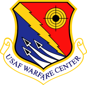 English: United States Air Force Warfare Cente...