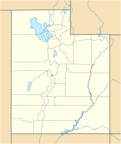 Nephi is located in Utah