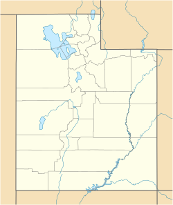 Porterville, Utah is located in Utah