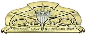 Tactical Law Enforcement Badge - Coast Guard Tactical Law Enforcement Badge