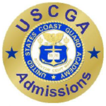 U.S. Coast Guard Academy Admissions Recruiting Badge