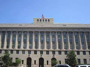 United States Department of Agriculture - The Jamie L. Whitten Building in Washington D.C. is the USDA headquarters.