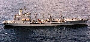 USNS Kanawha (T-AO-196) stbd broadside