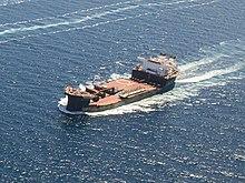 USNS Montford Point (T-MLP-1) underway in July 2014.JPG