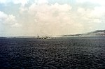 USS California (BB-44) bombarding Guam in July 1944.jpg