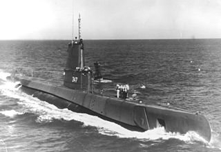 USS <i>Cubera</i> (SS-347)