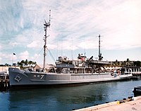 USS Grapple (ARS-7) in port, circa in the early 1970s (L45-111.01.01).jpg