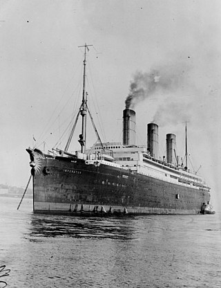 ocean liner built for the Hamburg America Line