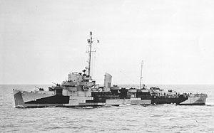 CU convoys - Image: USS Peterson DE 152 portview