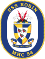 USS Robin MHC-54 Crest.png