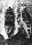 USS Salamonie (AO-26) refuels USS Newport News (CA-148) in 1950.jpg
