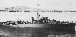 USS San Pedro in World War II