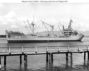 USS Sussex (AK-213) - Image: USS Sussex (AK 213)