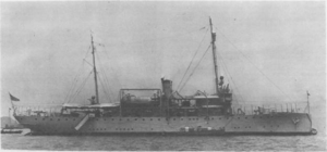 Asheville-class gunboat (1917) - Tulsa while stationed in Hong Kong.