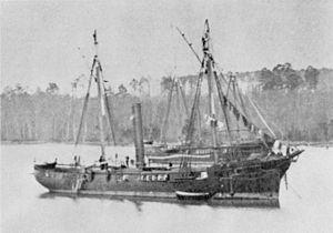 Unadilla-class gunboat