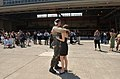 US Navy 030501-N-5961C-006 Lt. Christian Sewell and his wife enjoy a much-earned reunion.jpg