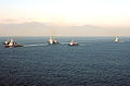 US Navy 041121-N-0000X-001 Ships of the Forward Deployed Naval Forces sail in formation past Japan's Mount Fuji after the conclusion of ANNUALEX.jpg