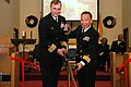 US Navy 061216-N-3901L-048 Commanding Officer Naval Air Station North Island (NASNI) Capt. Anthony E. Gaiani, and NASNI Chaplain Lt. Cmdr. An. B. Nguyen, conduct the ribbon-cutting ceremony at on board the base chapel.jpg