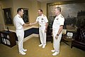 US Navy 070929-N-0696M-030 Adm. Jonathan Greenert, center, reports to Chief of Naval Operations (CNO) Adm. Mike Mullen, left, as the new commander, Fleet Forces Command.jpg
