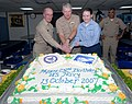 US Navy 071012-N-8704K-134 Navy birthday celebration aboard USNS Comfort.jpg