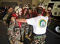 US Navy 090629-N-9689V-001 Capt. John Shaub speaks to Seabees assigned to Amphibious Construction Battalion (ACB) 1 and Naval Mobile Construction Battalion.jpg