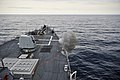 US Navy 110629-N-AH647-097 The guided-missile destroyer USS James E. Williams (DDG 95) fires its 5-inch-54-caliber (Mk 45) lightweight gun during g.jpg