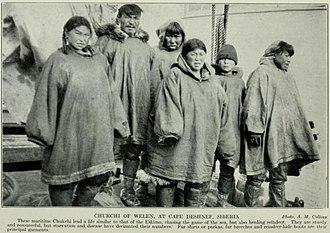 Uelen - Residents of Uelen, 1913