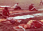 Układanie spadochronów, Gliwice 1984.09.08.jpg