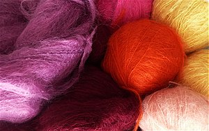 Mohair - Mohair wool