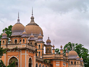 Building with Islamic architecture